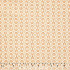 A Beautiful Thing - Diamonds Orange Yardage - Zoe Pearn - Riley Blake