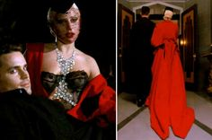 "When she and her fuccboi Donovan wore this shit to find some prey (and, like, catch a movie.) | 15 Times Lady Gaga's Outfits Slayed On ""American Horror Story: Hotel"""
