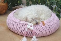 Hundekorb_Katzenkorb_ Textilgarnkorb,_Hundebett,_Katzenbett_Hundekissen_Dog bed_cat bed_Keolani-design Baby Accessoires, Dog Bed, Bean Bag Chair, Baby Shoes, Cats, Design, Home Decor, Dog Accessories, Gatos