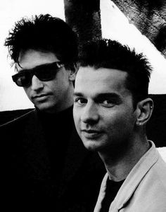 Alan Wilder and Dave Gahan ~ Depeche Mode