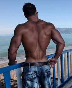 Big, beautiful, strong, back. One of the sexiest parts of a man ;)