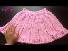 Snurr-Meg-Skjørt / Triple Skirt pattern by Knit Me Baby Knitting Patterns, Lace Knitting, Knitted Christmas Jumpers, Crochet Hair Accessories, Baby Skirt, Baby Girl Sweaters, Baby Pullover, Knitting Videos, Knit Skirt