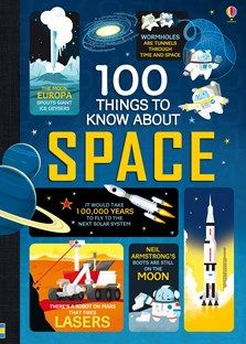Usborne Book 100 Things to Know About Space Neil Armstrong, My Science Project, Science Projects, Space Books, Space Space, Space Kids, Science Festival, Computer Coding, Information Age