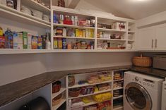 Kitchen & Pantry / Laundry Room