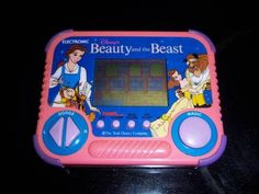 Vintage Tiger Electronics Disney Beauty and the Beast Hand Held Game