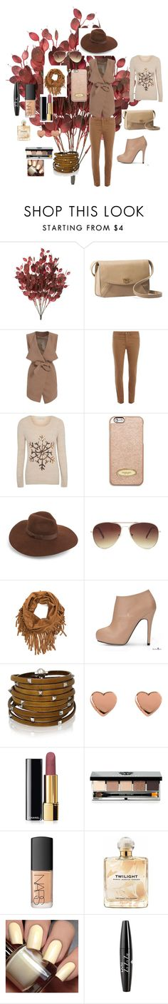 """Autumn"" by mei-terumi ❤ liked on Polyvore featuring UGG Australia, Dorothy Perkins, George, MICHAEL Michael Kors, Lack of Color, Forever 21, Sif Jakobs Jewellery, Ted Baker, Chanel and Bobbi Brown Cosmetics"