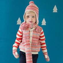 Brand100%Cotton Girl Christmas Sweater Cardigan child kid baby girl clothes infant toddler girl cardigan knitting coat jacket(China (Mainland))