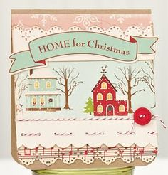 Home for Christmas Card by @Charlene Cundy