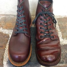 Leather Fashion, Fashion Boots, Mens Fashion, Red Wing Beckman, Red Wing Boots, Handmade Leather Shoes, Versace Men, Cool Boots, Buy Shoes
