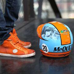 McQueen Helmet by Troy Lee Design - Steve McQueen  so expensive but worth it.
