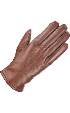 Men's Leather Cashmere Blend Lined Dress Glove - #WilsonsLeather #Leathergloves