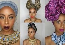 4 Artistic Head Wraps To Save You Time And Keep Your Hair Protected This Week