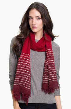 Echo Dip Dye Border Wrap available at #Nordstrom