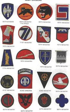 My grandfather was in the Infantry Military Ranks, Military Insignia, Military Art, Military History, Army Patches, Vintage Patches, Military Diorama, Armada, United States Army