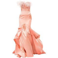 edited by Satinee - Alexis Mabille Couture 2013 ❤ liked on Polyvore
