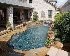 Small lap pool More