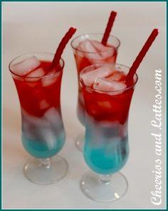 Nonalcoholic Layered Drinks DIY