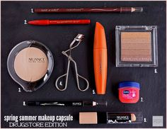 Looking for ways to simplify your spring summer makeup routine? These drugstore-friendly Spring Summer Makeup Capsule Ideas will help you simplify and still stay beautiful.