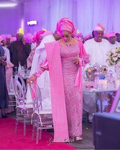 Chief Sade Okoya queening in pink Photography African Wear Dresses, Latest African Fashion Dresses, African Print Fashion, Africa Fashion, African Outfits, Ankara Fashion, Traditional Wedding Attire, African Traditional Wedding, African Wedding Attire