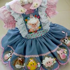 Baby Girl Dresses Diy, Girls Dresses, Farm Birthday, Bookmarks Kids, Wedding Cards, Sewing Crafts, Doll Clothes, Harajuku, Alice