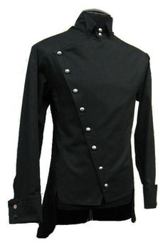 SHRINE EMPIRE GABARDINE GOTHIC VAMPIRE STEAMPUNK PIRAT VICTORIAN JACKET SHIRT | Clothing, Shoes & Accessories, Men's Clothing, Casual Shirts | eBay!
