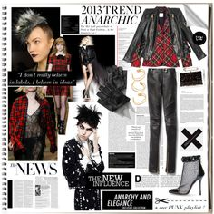 The Fashion Notebook: Anarchic - Polyvore