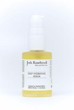 Deep Hydrating Serum from Josh Rosebrook. With coconut, hemp seed & apricot oils.
