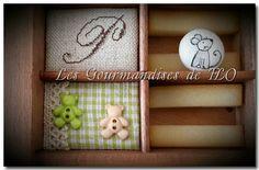 Casier d'imprimeur Les Gourmandises de FLO http://123flobricole.canalblog.com