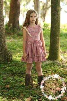 New ideas dress summer kids etsy Kids Frocks, Frocks For Girls, Little Girl Dresses, Girls Dresses, Frock Patterns, Baby Girl Dress Patterns, Trendy Dresses, Fall Dresses, Girls Frock Design