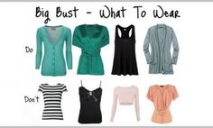 8 Fool-Proof Fashion Tips for Large Bust Women | #FashionTips