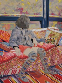 Naomi Okubo - The works of Japanese artist Naomi Okubo are filled with beauty, contradictions and colors of all kinds. While she often includes natural elements in her works, her paintings focus on contemporary social issues that play important roles in our daily lives.
