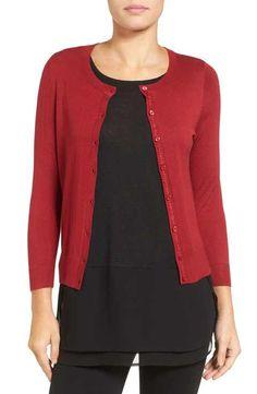 Bobeau Long Cardigan (Regular & Petite) | Ana's Sweaters ...