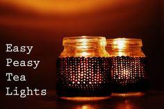 Easy Peasy Tea Lights
