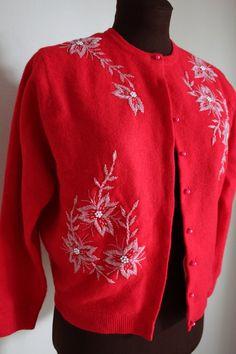 Vintage Beaded Cardigan « Quiet Vintage Sewing