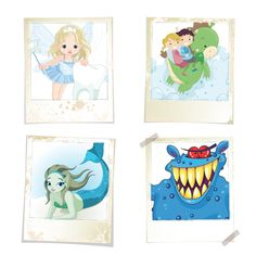 iCLIPART: 45 Royalty Free Clip Art Images of Mythical Creatures. Amazing Faeries, Mermaids, Monsters, Dragons and more. (click to view)