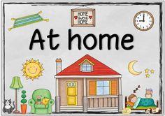 Ideenreise: At home (Themenplakat und Zusatzmaterial)