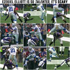 Zeke Elliott 💙