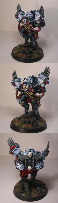 Kayvaan Shrike, Captain of the Raven Guard