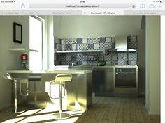 La mia cucina...in render