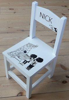 Jip en Janneke stoel #kinderkamer #kinderstoel   Kids chair #kidsroom