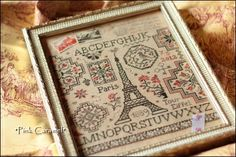 Cross stitch pattern from Jardin Prive  http://www.jardinprive.com/index.php?mod=QC06