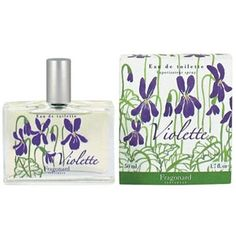 Eau de toilette Fragonard, « Violette » my mother recieved a small bottle of this and it is such a BEAUTIFUL fragrance