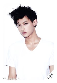 EXO Tao -- Black haired Tao is the best Tao