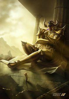 Increibles Fan Arts de Los Caballeros del Zodiacos la Saga de las 12 casas - El Santuario de Athena