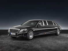 Flagship Mercedes-Maybach S600 Pullman Gets Armored 'Guard' Variant