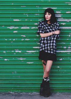 Outfit, black, hannah, skirt,