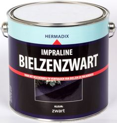Bielzen en Rol borders verven met Hermadix Impraline Bielzen-zwart.