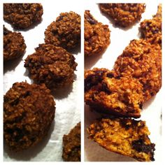 Pumpkin Protein COOKIES - based off of Jamie Eason's Pumpkin Protein bars! SO delicious :D Pumpkin Protein Bars, Protein Cookies, Jamie Eason Workout, Healthy Food, Healthy Recipes, Food Ideas, Clean Eating, Train, Ethnic Recipes