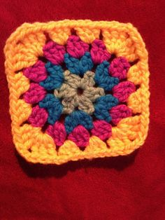 Ravelry: Project Gallery for Little Circle Square pattern by Kate Jenks