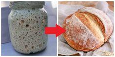 Droždie je v týchto dňoch v mnohých obchodoch beznádejne vypredané, avšak s týmto domácim kváskom si pripravíte chlebík aj bez neho. Navyše je oveľa chutnejší a zdravší! Kvások si takto jednoducho vyrobíte sami doma. Potom … Bread, Food, Brot, Essen, Baking, Meals, Breads, Buns, Yemek